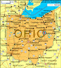 Ohio Campgrounds Map James Ritty By Carson