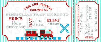 train ticket invitation template musicalchairs us