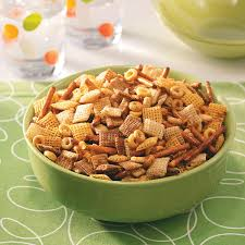 Halloween Snack Mix Recipes Healthy Party Snack Mix Recipe Taste Of Home
