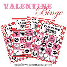 valentines bingo bingo free printable the crafting