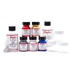 airbrush starter kit angelus brand paints customize your jordans
