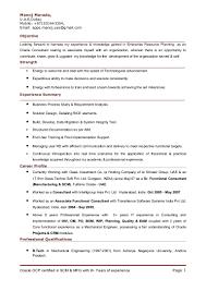 Analytics Consultant Resume Scm Functional Consultant Resume Resume For Your Job Application