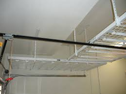Garage Shelves Diy by Garage Overhead Storage Carycostco Saferacks Racks Shelf Diy