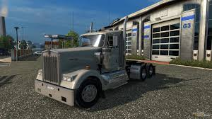 kenworth k series w900 fixed for euro truck simulator 2