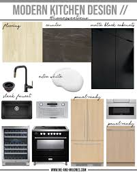 modern kitchen black cabinets home sweet reno our modern kitchen design plans me and