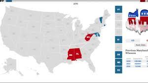 2004 Election Map by U S Election 2016 Rubio Cruz Paul Vs Hillary Biden