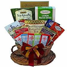 gift food baskets you re my cup of tea gourmet snacks gift basket