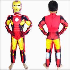 Iron Man Halloween Costume Toddler Aliexpress Buy Halloween Party Cosplay Clothes Birthday Boys