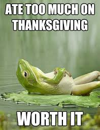 inspirational thanksgiving memes to get you through all the