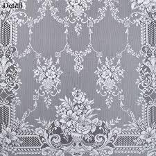 cranbrook white lace window treatment