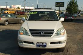 lexus suv for sale nebraska 2004 lexus gx470 white used suv sale