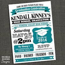 high school graduation party invitations high school or college graduation party invitation printable on
