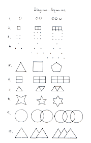 arithmetic sequences worksheets tally mark worksheet