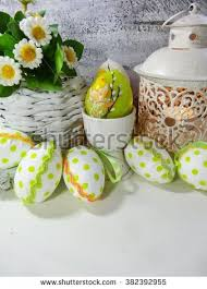 decorated egg shells easter decoration egg shells decorated colorful stock photo