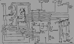 wiring diagram engine machine caterpillar d343 824b tractor