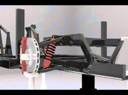 f40 suspension f40 front suspension animation 3ds max
