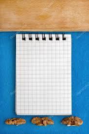 cahier de cuisine arrière plan de menu livre de cuisine cahier de recette aux noix