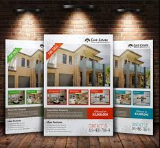 real estate flyers templates free property flyer design 17 stylish house for sale flyer templates