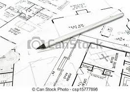 house plan blueprints house plan blueprints with drawing pencil stock photographs