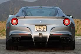 Ferrari F12 Silver - ferrari ferrari f12 berlinetta rear ferrari f12 berlinetta