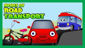 modes of transportation for children road transport for kids