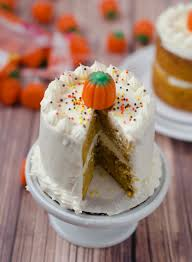 mini pumpkin layer cakes cake merchant