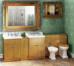 Beech Bathroom Furniture For A Lodge Feel Go For A Traditional Vanity Unit In