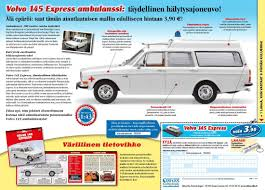 volvo website ambulance collection by editions atlas minivolvo lu