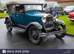 four seat a 1930 s ford model a four seat four door top touring car in