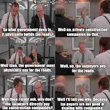 Build A Meme - this office space meme proves we don t need government to build roads