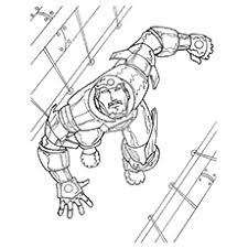 20 free printable iron man coloring pages