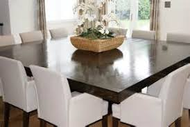 Dining Room  Seat Square Dining Table On Dining Room With Best - Black dining table seats 10