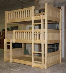 Plans For Building Log Bunk B by Best 25 Triple Bunk Ideas On Pinterest Triple Bunk Beds