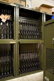 wall mount gun hangers weapons storage mcmurray stern
