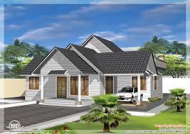 Single Floor Home Front Design Single Storey Like Double Floor Home Design Kerala Home Design And