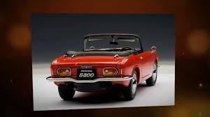 honda s800 honda s800 roadster 1966 autoart 73276 1 18 youtube