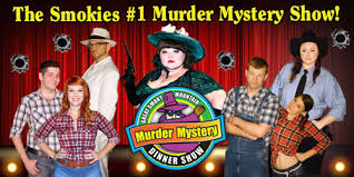 great smoky mountain murder mystery dinner show pigeon forge