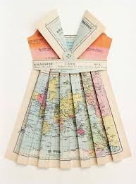 Map Paper Kate U0027splace The Cartographers Guide To Paper Dress Making Diy