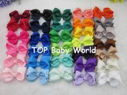 3 inch grosgrain ribbon wholesale wholesale 3inch grosgrain ribbon hair ribbon bows with clip baby