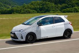 toyota yaris grmn prototype review can it rival the ford fiesta