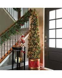half christmas tree deal alert improvements 6 1 2 calgary spruce drum half christmas tree