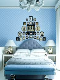 light blue bedroom bench checks navy blue bench light blue end of