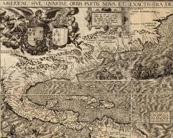 Colonial Map Of America by Maps Of Early Colonial America 1500s