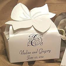 wedding favor boxes personalized bow top custom wedding favor boxes