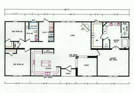 3 Bedroom Trailer Floor Plans by 3 Bedroom Floor Plan K 3238 Hawks Homes Manufactured