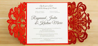 wedding invitations philippines laser cut wedding invitations philippines invitations by