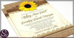 sunflower wedding invitations amazing rustic sunflower wedding invitations for rustic sunflower