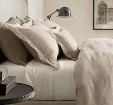comfortable restoration hardware linen sheets homesfeed