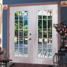 Inswing Patio Door Shop Reliabilt 6 Reliabilt Patio Door Steel 15 Lite