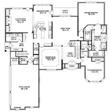 4 bedroom house plans 1 4 bedroom 2 bath 1 house plans escortsea